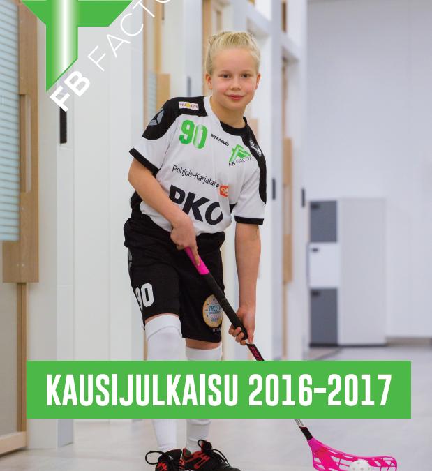 FB Factorin kausijulkaisu 2016-2017 luettavissa