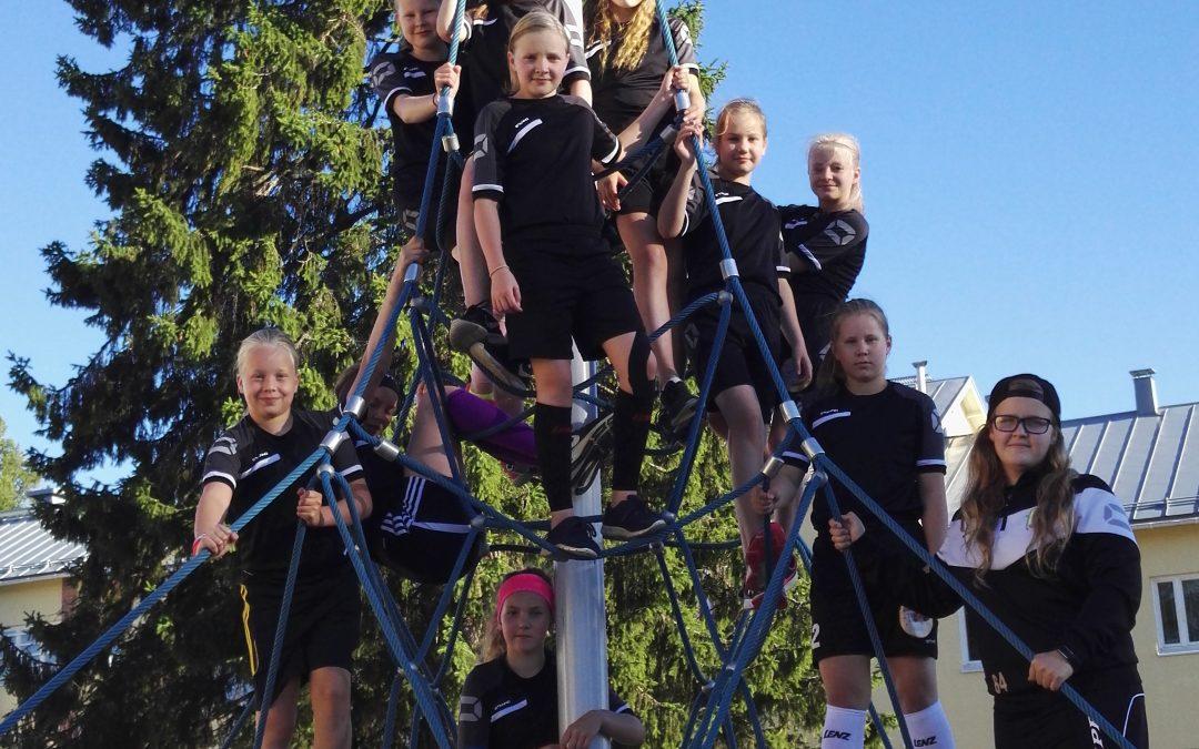 C-tytöt pääsevät pelaamaan SM-karsinnat Kontiolahdessa