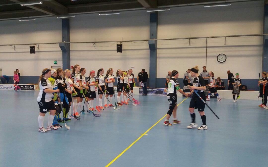 FB Factorin tytöt avasivat heti pistetilin naisten II-divisioonassa.