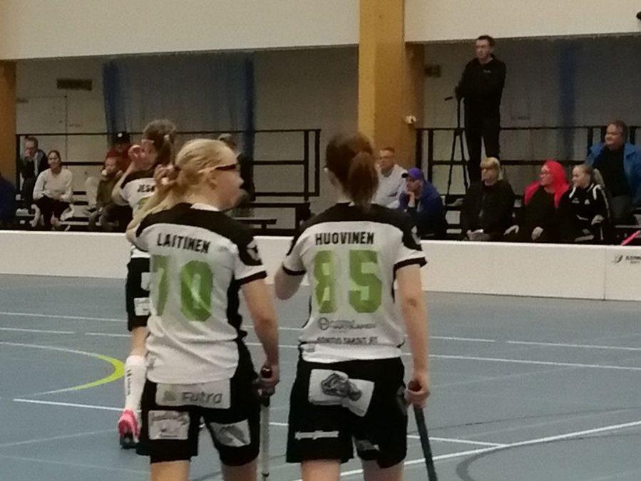A-tytöt avasivat voittotilin Askolan turnauksessa