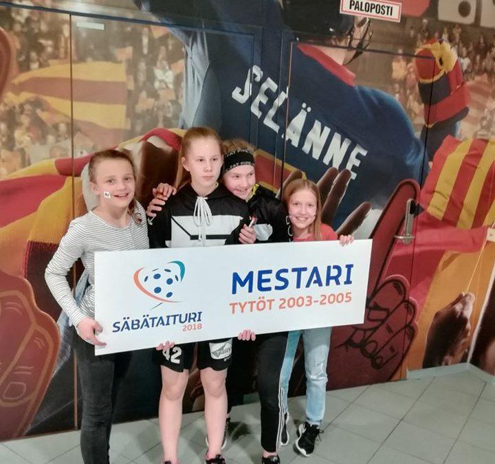 FB Factorin Julia Pehkonen voitti Säbataituri-kilpailun