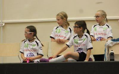 F-tyttöjen kauden toinen turnaus pelattiin Kuopiossa