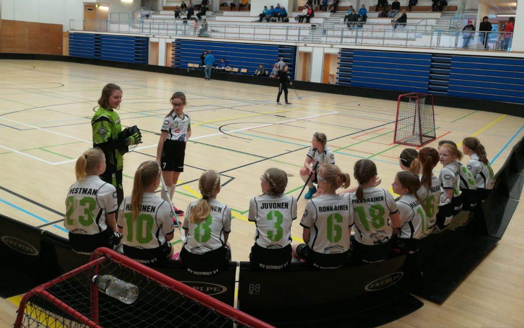 D-tytöt voitokkaina Lappeenrannassa