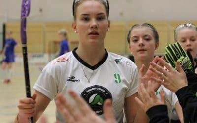 C-tytöille kaksi voittoa Kuopiosta