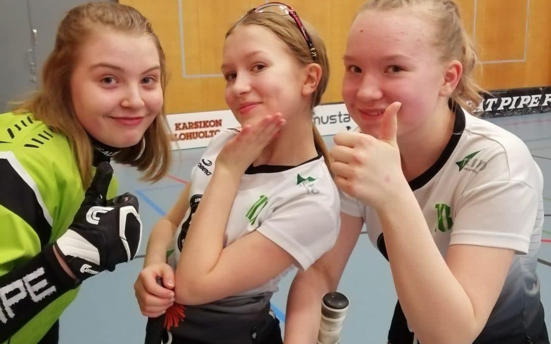 D-tytöille kaksi pistettä C-tyttöjen Kontiolahden turnauksesta