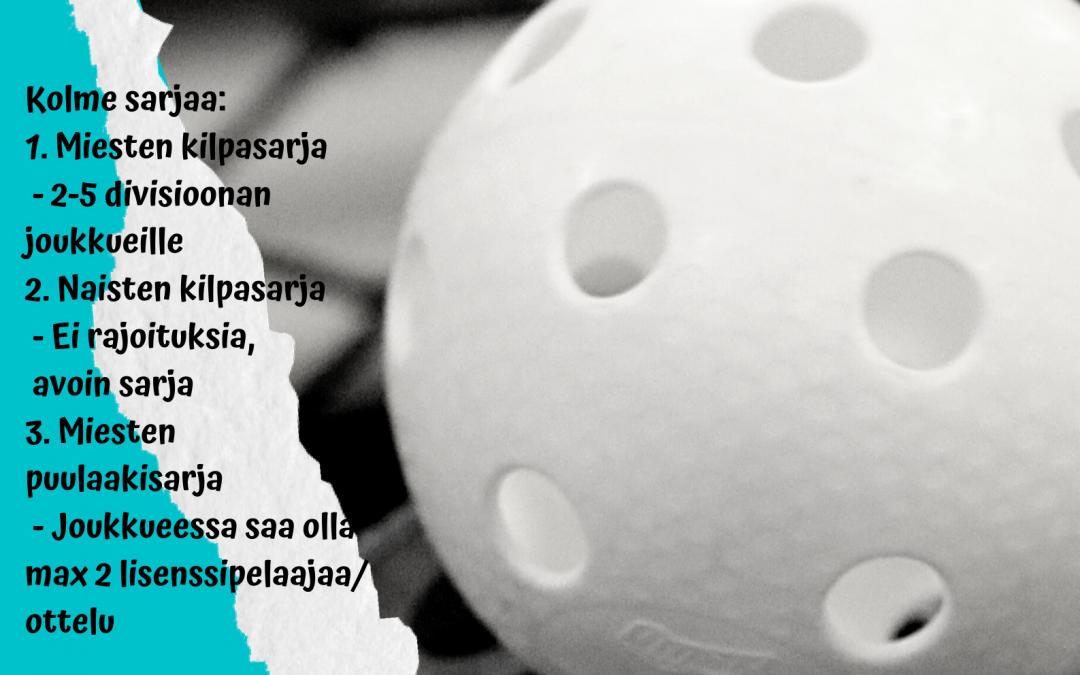 Pohjois-Karjalan salibandyn kesäliiga kesä-heinäkuussa